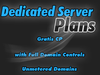 Affordably priced dedicated hosting server plans